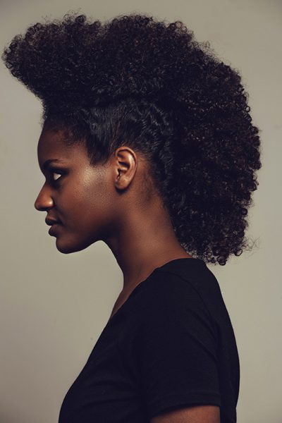coupe afros femme