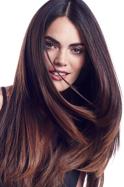 extension cheveux long marron
